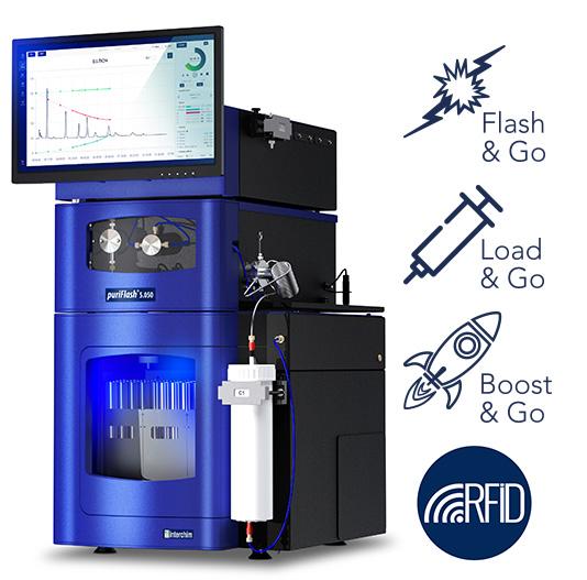 Ultra Performance Flash Purification puriFlash 5.050